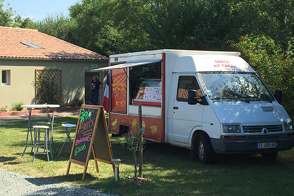 Camping 3 Etoiles Vendee Service Repas Truck Campilo